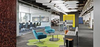 office interior design tech and finance companies rock out at the office