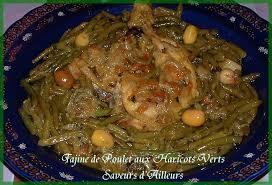 cuisiner avec un tajine en terre cuite tajine de poulet aux haricots verts