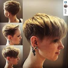 side and front view short pixie haircuts layered short pixie haircut for thick hair pretty designs