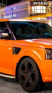 land rover wallpaper iphone 6 download wallpaper 750x1334 tuning orange land rover iphone 6 hd