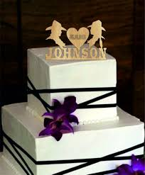 rustic monogram cake topper cowboy personalized cake topper rustic wedding cake topper