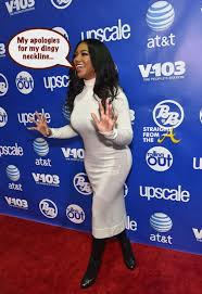 2015 bonner brothers hair show spotted rhoa kenya moore so dirty so stained at bronner bros