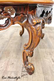 Ebay Chippendale Esszimmer Chippendale Barock Beistelltisch Tisch Massiv Intarsien Antik Ebay
