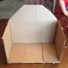 farm crafts cardboard box barn u0026 popsicle stick animals
