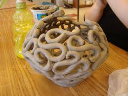 unique fruit bowl such a rad coil pot never seen anything like this would make