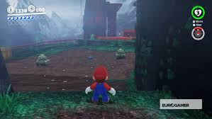 super mario odyssey pass to the secret flower field and defend
