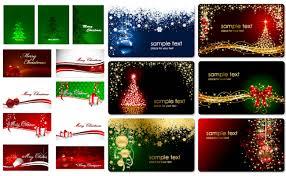 free christmas card vector christmas lights decoration