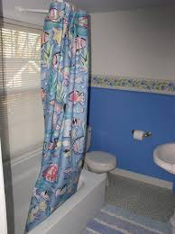 Cornflower Blue Bathroom by Before And After Tiny Bathroom Huge Update