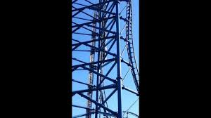 6 Flags Saint Louis Reverse Mr Freeze Six Flags Saint Louis Mo Youtube