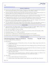 Programmer Resume Examples by Simple Sample Device Programmer Sample Resume Resume Sample