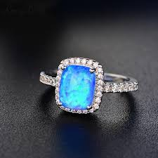blue green rings images 2018 whole salerongxing white blue green purple orange fire opal jpg