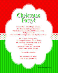 Party Invitation Wording Christmas Party Invitation Wordings Wordings And Messages
