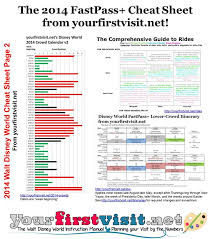 sheet for walt disney world in 2014 yourfirstvisit net