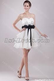 ivory and black short sweet 16 dresses cheap 1st dress com