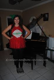 easy girly tabasco costume keeping it halloween costume