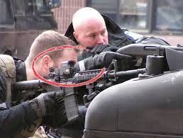 Why Is The American Flag Backwards On Uniforms Swat Cop Who Puts His U0027military Style U0027 Sight On Backwards Wants To
