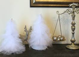 Make Beautiful by Diy Tulle Trees In The Garage