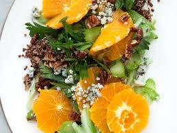 black quinoa and citrus celery salad recipe sarah bolla food