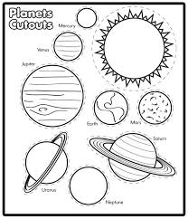 solar system coloring pages lots of them jose pinterest