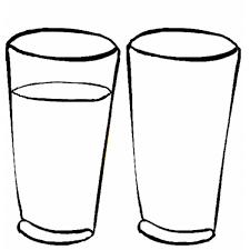 disegni bicchieri disegno di bicchieri da colorare per bambini