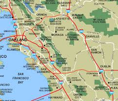 Oakland Map East Bay Oakland U2022 Mapsof Net