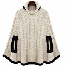 ponchos a palillo knit poncho 24678 pinterest ponchos dos agujas y tejido
