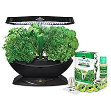 Indoor Herb Garden Kit Australia - amazon com aerogarden 7 led indoor garden with gourmet herb seed