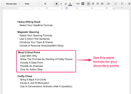 how to write a hook for a research paper how to write a blockbuster blog post in 45 minutes step 4 how to flesh out your outline in record time
