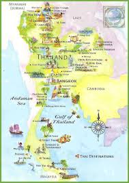 bangkok map tourist attractions popular 267 list thailand tourist map