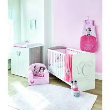 chambre b b mickey disney baby lit en bois 60x120 cm commode bébé décor mickey