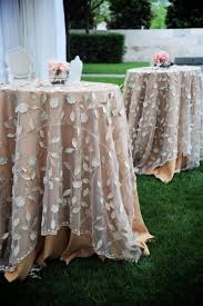 table linens for weddings country wedding lovely overlays table linens 2031720 weddbook