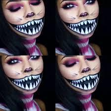 Scary Alice Wonderland Halloween Costume 26 Alex Halloween Images Cheshire Cat Makeup