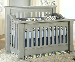 Gray Convertible Crib Grey Baby Cribs Sugar Crib Weathered Gray Baby Furniture Plus