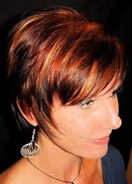 brunette hairstyle with lots of hilights for over 50 best 25 brown hair orange highlights ideas on pinterest fall