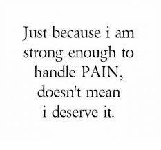 What S Meme Mean - just because i am strong enough to handle pain doesn t mean i