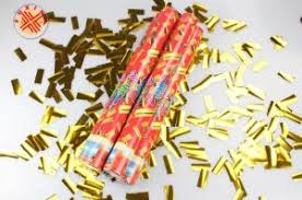 party poppers china gold foil confetti party poppers confetti streamer