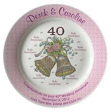 60th anniversary plates personalized bone china commemorative plate for a 60th wedding