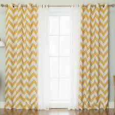 Grommet Chevron Curtains Tulle Curtains Wayfair