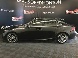 lexus sedan packages pre owned 2016 lexus is 300 premium package 4 door car in edmonton
