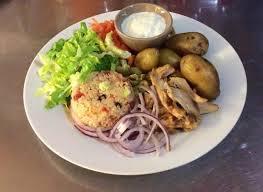 assiette de cuisine assiette kebab photo de cuisine et compagnie eymoutiers