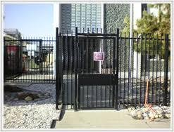 ornamental iron fence aluminum fencing san francisco bay area