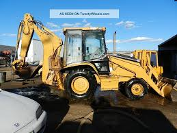 1998 caterpillar 416c backhoe loader 2wd cab extendahoe