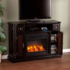 Electric Media Fireplace I Want Upton Home Ellis Ebony Media Console Stand Electric