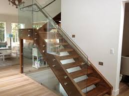 glass railings cad details railing stairs and kitchen design image of glass railings for steps