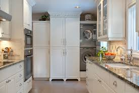 laundry in kitchen ideas built in washer and dryer ideas laundry room style with
