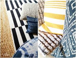 cad interiors affordable stylish interiors jute rug striped wool rug indigo ikat pillow textures patterns home decor accessories cad interiors family