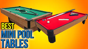 7 best mini pool tables 2016 youtube