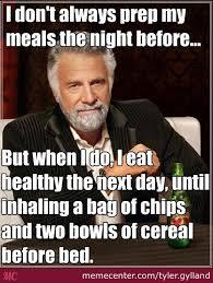 Meal Prep Meme - meal prep fail by tyler gylland meme center