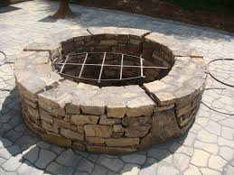 Stone Firepit by Experts In Bbq Fire Pits And Outdoor Living Spaces