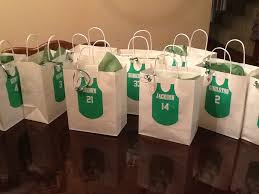 personalized goodie bags basketball team goody bags my diy creations